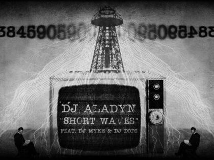 DJ ALADYN : Short Waves è il nuovo lavoro del re del turntablism italiano, un racconto in musica delle number station, le radio clandestine del secolo scorso