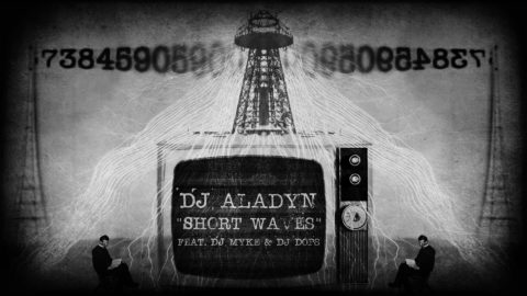 Dj Aladyn - SHORT WAVES feat Dj Myke & Dj Dops (Cover 1)